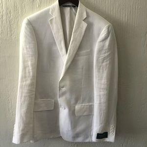 Nordstrom white Sport coat size 38